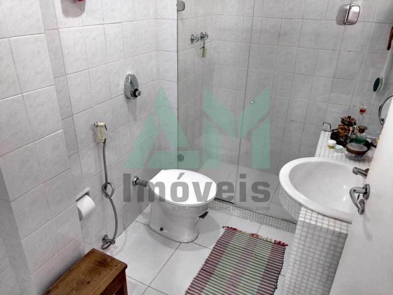 Banheiro Social  - Cobertura À Venda - Tijuca - Rio de Janeiro - RJ - 1088 - 16