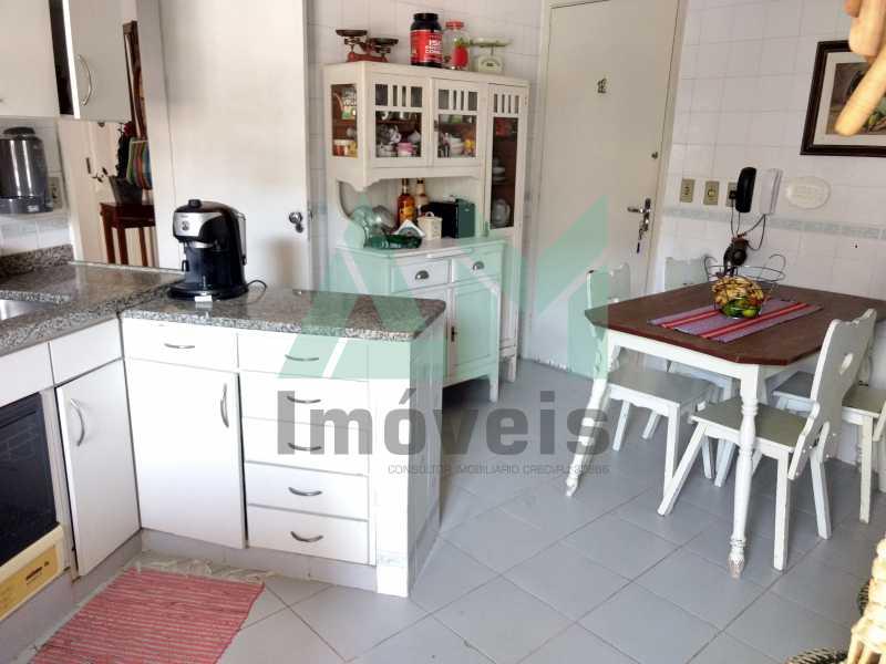 Cozinha - Cobertura À Venda - Tijuca - Rio de Janeiro - RJ - 1088 - 19