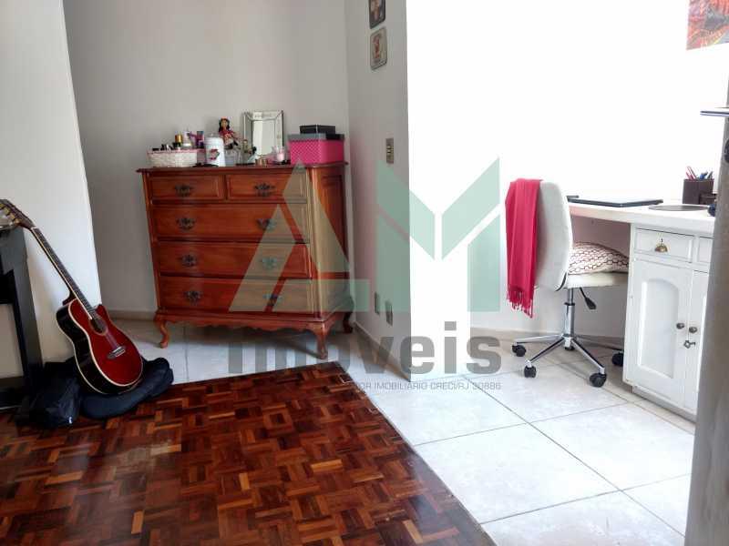 Quarto - Cobertura À Venda - Tijuca - Rio de Janeiro - RJ - 1088 - 14