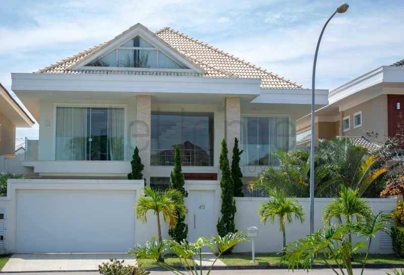 casa barra da Tijuca 4 suites  - Casa para locação, Condomínio Del Lago, 5 quartos ( 4 suítes), Barra da Tijuca - LECN50001 - 1