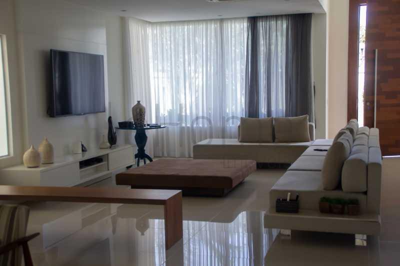 casa Barra da Tijuca 4 suites  - Casa para locação, Condomínio Del Lago, 5 quartos ( 4 suítes), Barra da Tijuca - LECN50001 - 4