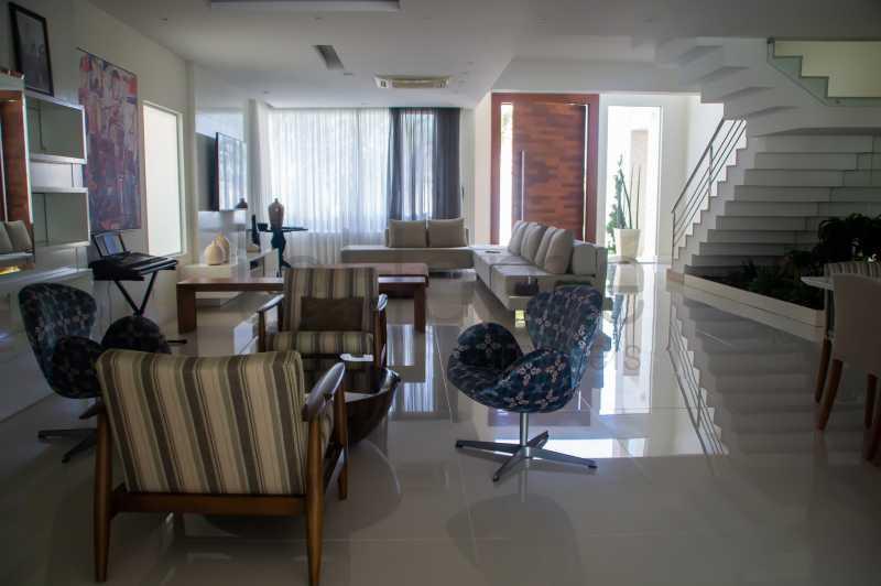 casa Barra da Tijuca 4 suites  - Casa para locação, Condomínio Del Lago, 5 quartos ( 4 suítes), Barra da Tijuca - LECN50001 - 7