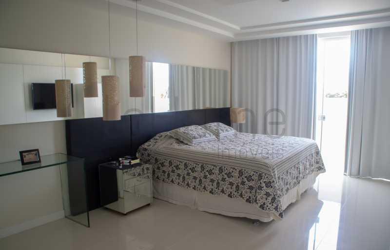 casa Barra da Tijuca 4 suites  - Casa para locação, Condomínio Del Lago, 5 quartos ( 4 suítes), Barra da Tijuca - LECN50001 - 12
