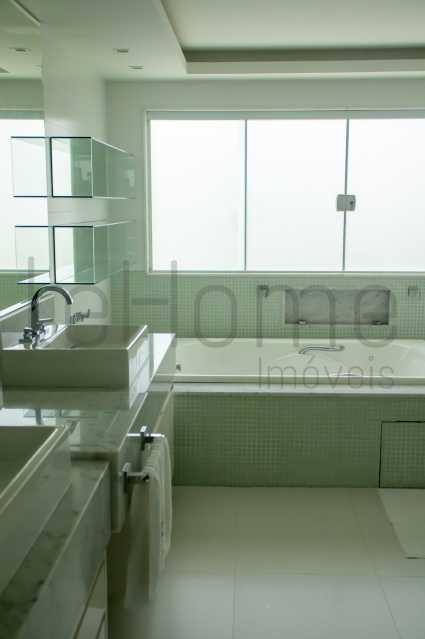 casa Barra da Tijuca 4 suites  - Casa para locação, Condomínio Del Lago, 5 quartos ( 4 suítes), Barra da Tijuca - LECN50001 - 14
