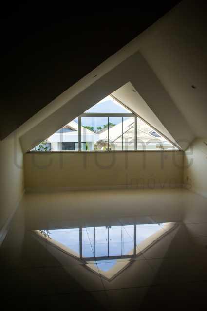 casa Barra da Tijuca 4 suites  - Casa para locação, Condomínio Del Lago, 5 quartos ( 4 suítes), Barra da Tijuca - LECN50001 - 23