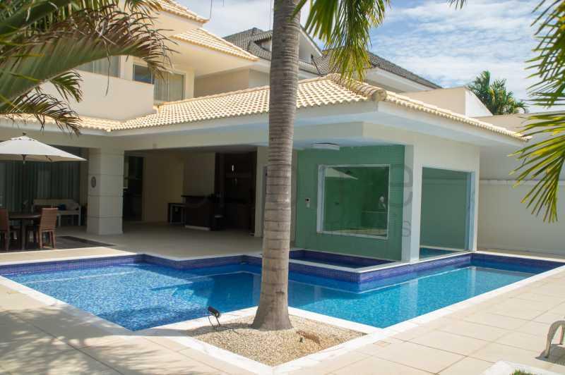 casa Barra da Tijuca 4 suites  - Casa para locação, Condomínio Del Lago, 5 quartos ( 4 suítes), Barra da Tijuca - LECN50001 - 25