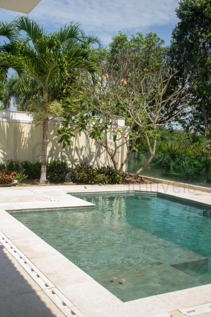 Casa 4 suites Barra da Tijuca  - Casa a venda e para locação, 4 suítes, Condomínio de Luxo, Quintas do Rio, Barra da Tijuca Rio de Janeiro - LECN40001 - 1