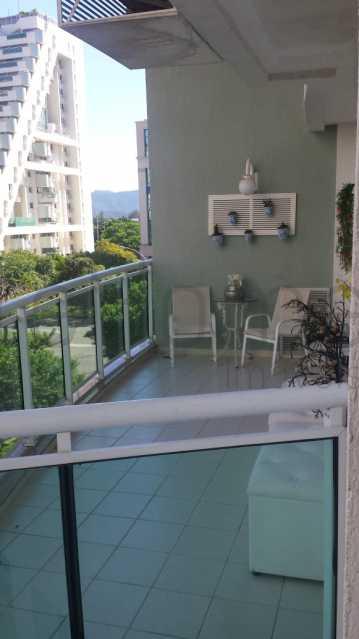Apartamento a venda 3 quartos  - Apartamento a venda 3 quatos (2 suites) Americas Park Barra da Tijuca - LEAP30006 - 1