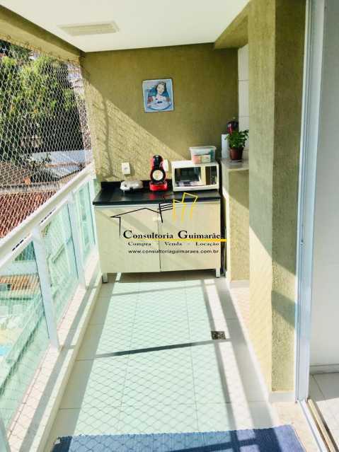 74658343-d409-49e9-b234-f386a0 - Apartamento 2 quartos à venda Pechincha, Rio de Janeiro - R$ 315.000 - CGAP20129 - 3