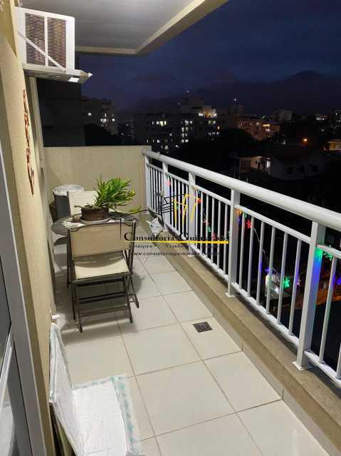 9c54f0ed-2b76-4c1a-bb05-acae03 - Cobertura 3 quartos à venda Taquara, Rio de Janeiro - R$ 555.000 - CGCO30012 - 9