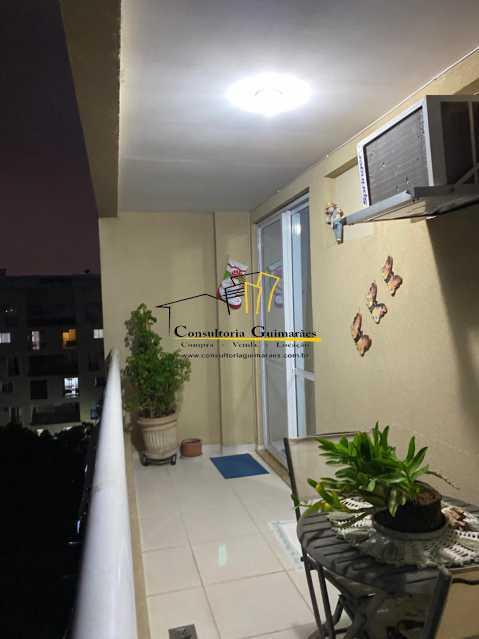 c46c8cc2-cf1f-47cd-98dd-b81a86 - Cobertura 3 quartos à venda Taquara, Rio de Janeiro - R$ 555.000 - CGCO30012 - 1