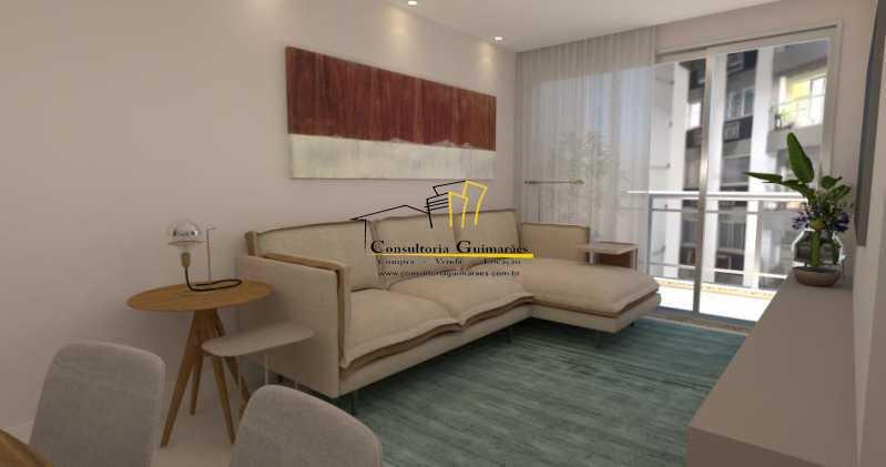 fotos-1 - Apartamento 3 quartos à venda Tijuca, Rio de Janeiro - R$ 729.000 - CGAP30060 - 1