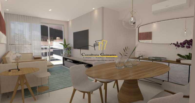 fotos-2 - Apartamento 3 quartos à venda Tijuca, Rio de Janeiro - R$ 729.000 - CGAP30060 - 3
