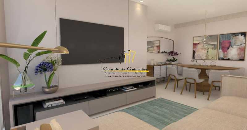 fotos-3 - Apartamento 3 quartos à venda Tijuca, Rio de Janeiro - R$ 729.000 - CGAP30060 - 5