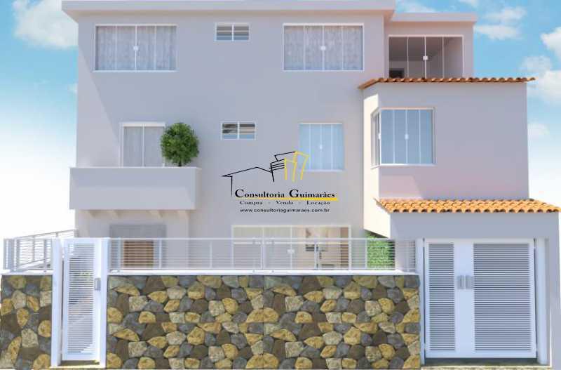 fotos-1 - Casa de Vila 5 quartos à venda Tijuca, Rio de Janeiro - R$ 1.150.000 - CGCV50001 - 1