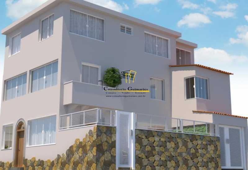 fotos-2 - Casa de Vila 5 quartos à venda Tijuca, Rio de Janeiro - R$ 1.150.000 - CGCV50001 - 3
