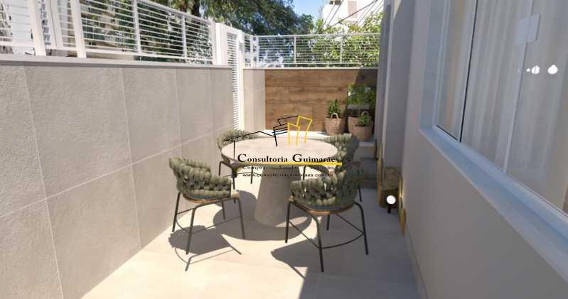 fotos-4 - Casa de Vila 5 quartos à venda Tijuca, Rio de Janeiro - R$ 1.150.000 - CGCV50001 - 4