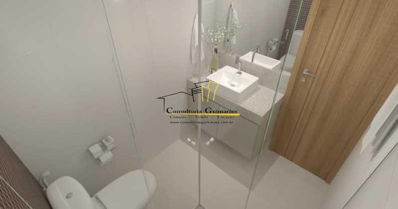 fotos-27 - Casa de Vila 5 quartos à venda Tijuca, Rio de Janeiro - R$ 1.150.000 - CGCV50001 - 9