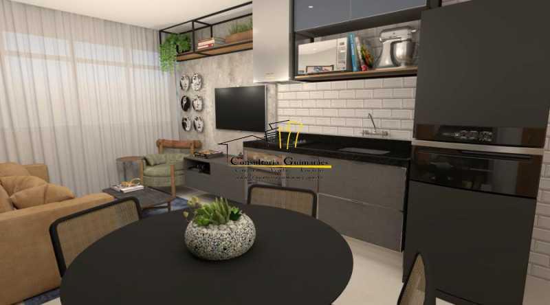 fotos-4 - Apartamento 2 quartos à venda Botafogo, Rio de Janeiro - R$ 599.000 - CGAP20144 - 5
