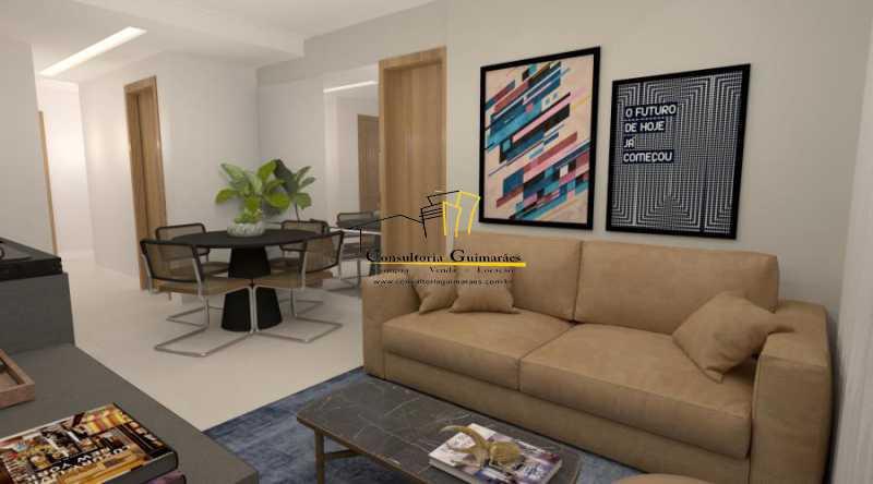 fotos-5 - Apartamento 2 quartos à venda Botafogo, Rio de Janeiro - R$ 599.000 - CGAP20144 - 3