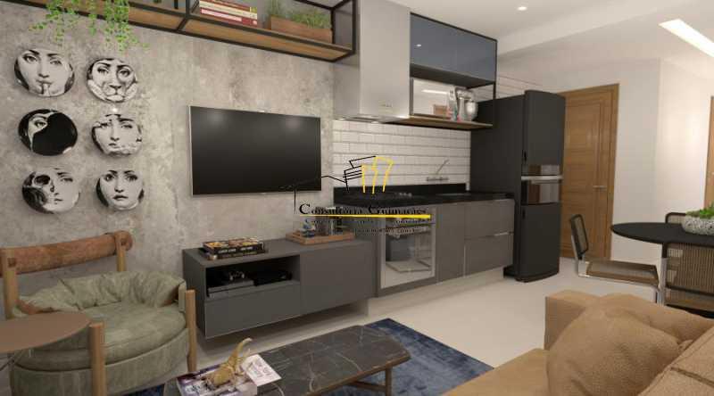 fotos-7 - Apartamento 2 quartos à venda Botafogo, Rio de Janeiro - R$ 599.000 - CGAP20144 - 4