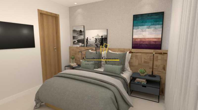 fotos-8 - Apartamento 2 quartos à venda Botafogo, Rio de Janeiro - R$ 599.000 - CGAP20144 - 6