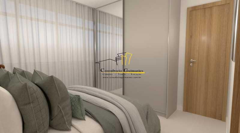 fotos-11 - Apartamento 2 quartos à venda Botafogo, Rio de Janeiro - R$ 599.000 - CGAP20144 - 7
