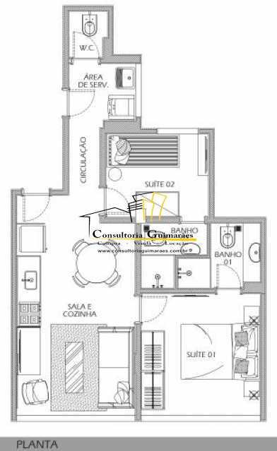 fotos-15 1 - Apartamento 2 quartos à venda Botafogo, Rio de Janeiro - R$ 599.000 - CGAP20144 - 14