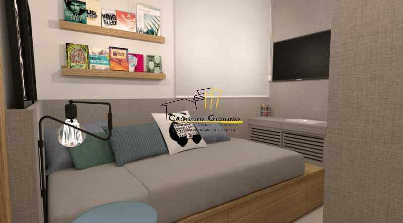 fotos-18 - Apartamento 2 quartos à venda Botafogo, Rio de Janeiro - R$ 599.000 - CGAP20144 - 13