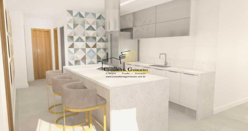 fotos-3 - Apartamento 3 quartos à venda Glória, Rio de Janeiro - R$ 899.000 - CGAP30061 - 7
