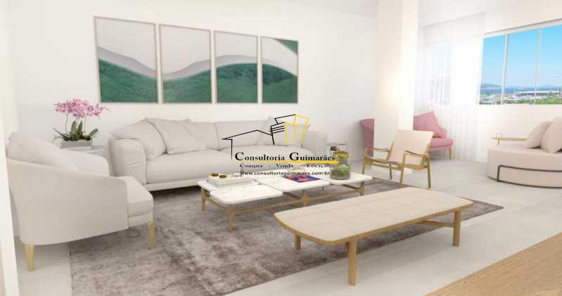fotos-8 - Apartamento 3 quartos à venda Glória, Rio de Janeiro - R$ 899.000 - CGAP30061 - 1