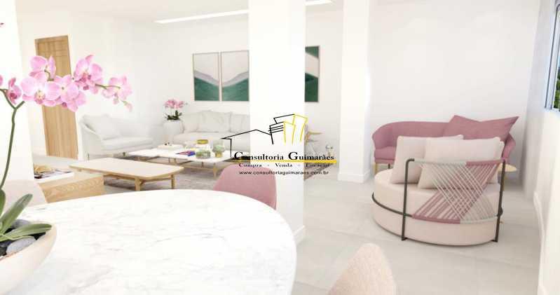 fotos-10 - Apartamento 3 quartos à venda Glória, Rio de Janeiro - R$ 899.000 - CGAP30061 - 6