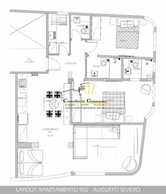 fotos-1. - Apartamento 2 quartos à venda Glória, Rio de Janeiro - R$ 719.000 - CGAP20145 - 13