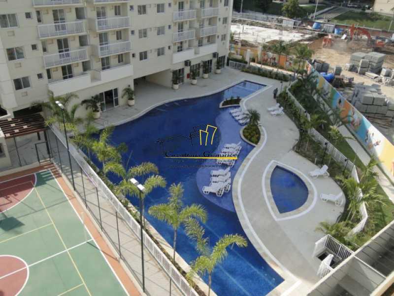 DSC04751 - Apartamento 2 quartos à venda Pechincha, Rio de Janeiro - R$ 273.000 - CGAP20147 - 3