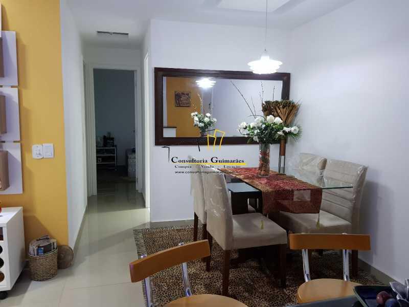 57e6b98b-5a15-4186-ad33-f96dac - Alugo apartamento 2 quartos sendo 1 suíte todo mobiliado (Pechincha) - CGAP20154 - 4
