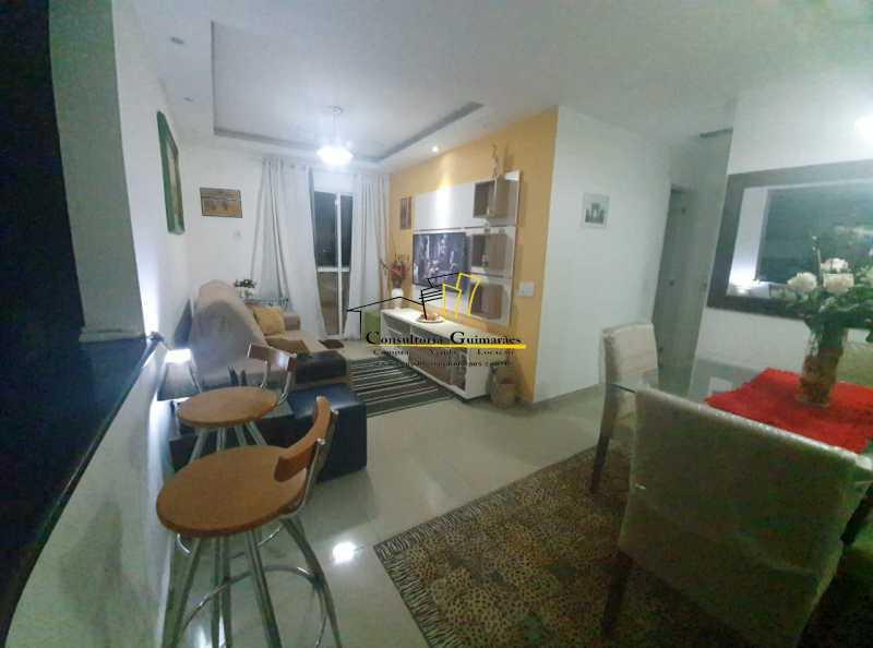 486dbb4d-7bec-43b1-9efe-b3107f - Alugo apartamento 2 quartos sendo 1 suíte todo mobiliado (Pechincha) - CGAP20154 - 1