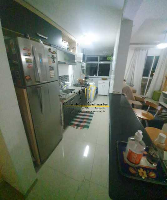 e41ab138-cd45-40fb-954c-cf15ff - Alugo apartamento 2 quartos sendo 1 suíte todo mobiliado (Pechincha) - CGAP20154 - 8