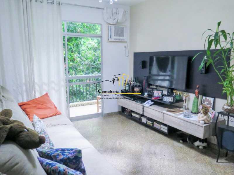346186364443786 - Apartamento 4 quartos à venda Anil, Rio de Janeiro - R$ 390.000 - CGAP40006 - 1
