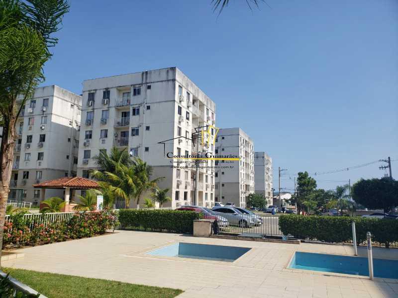 b0637290-aa50-4569-8570-ff90b8 - Apartamento 2 quartos para alugar Taquara, Rio de Janeiro - R$ 900 - CGAP20158 - 1