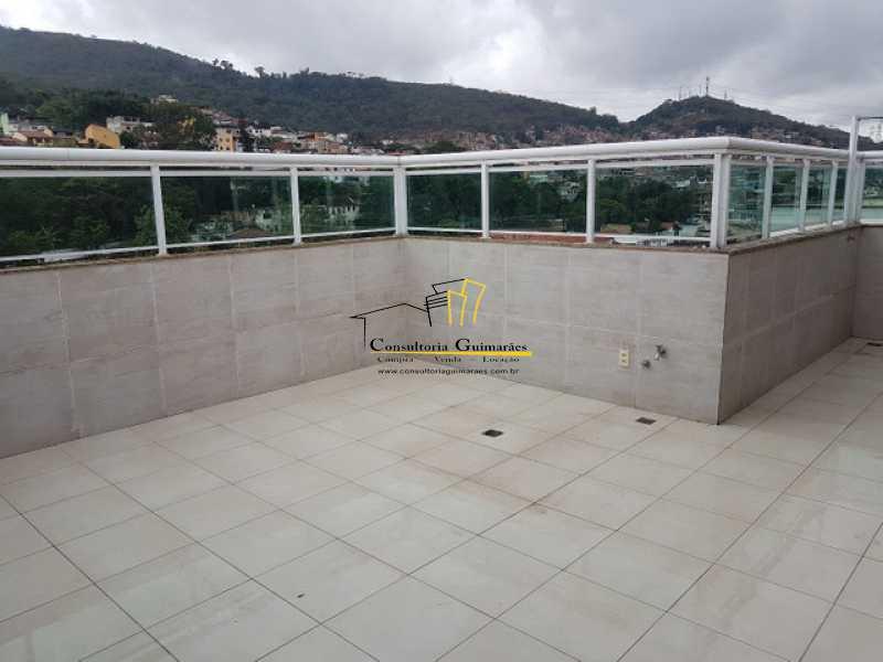 950086671699433 - Cobertura 3 quartos à venda Praça Seca, Rio de Janeiro - R$ 440.000 - CGCO30014 - 15