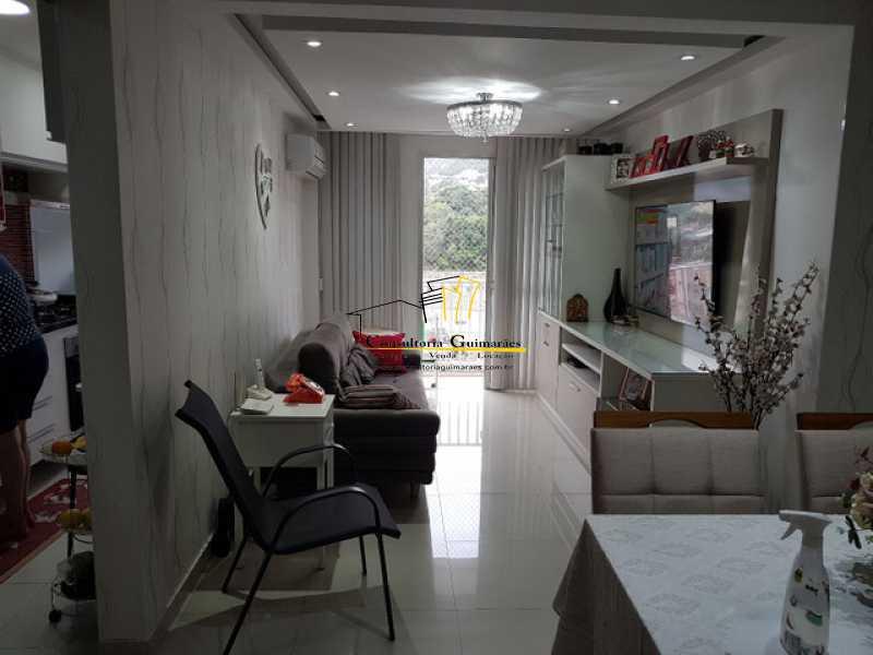 954009318494170 - Cobertura 3 quartos à venda Praça Seca, Rio de Janeiro - R$ 440.000 - CGCO30014 - 3