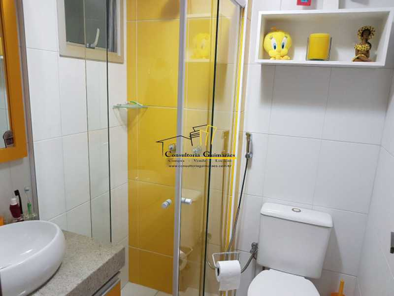 954047314750135 - Cobertura 3 quartos à venda Praça Seca, Rio de Janeiro - R$ 440.000 - CGCO30014 - 8