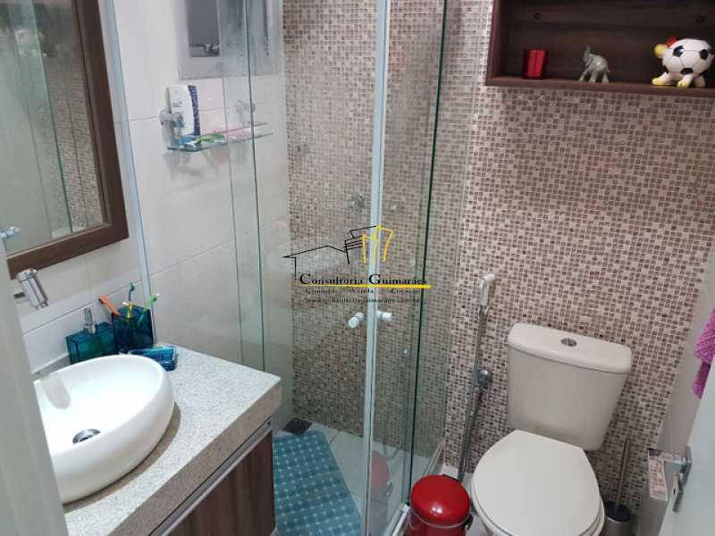 957071315579885 - Cobertura 3 quartos à venda Praça Seca, Rio de Janeiro - R$ 440.000 - CGCO30014 - 14