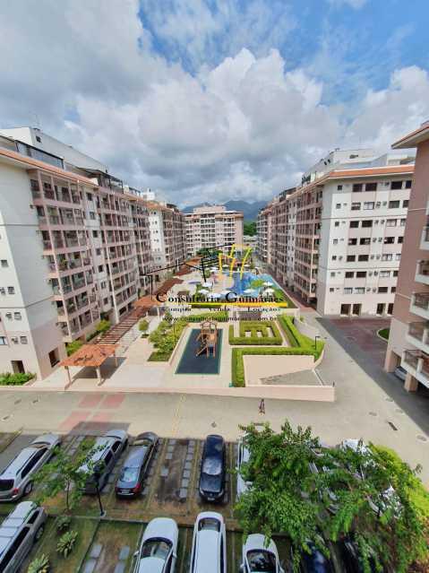 0ae8c851-df97-4cc5-9efa-b63f95 - Apartamento 3 quartos à venda Taquara, Rio de Janeiro - R$ 460.000 - CGAP30065 - 1