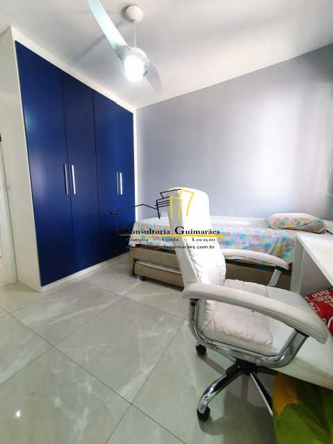 3b7ef3bd-acd7-4c13-9edf-35b155 - Apartamento 3 quartos à venda Taquara, Rio de Janeiro - R$ 460.000 - CGAP30065 - 9