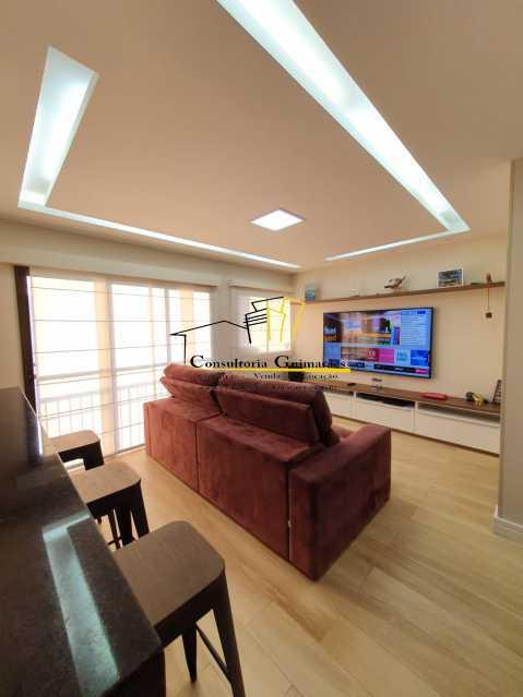 96ae6f85-a17c-421e-9f7d-a1d745 - Cobertura 3 quartos à venda Taquara, Rio de Janeiro - R$ 700.000 - CGCO30015 - 1