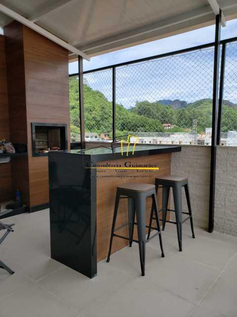 39406313-f69f-4b4e-b737-d65bd2 - Cobertura 3 quartos à venda Taquara, Rio de Janeiro - R$ 700.000 - CGCO30015 - 11