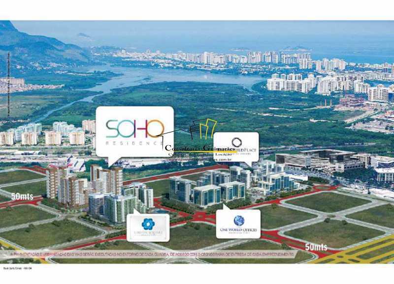 Brookfield - Soho Residence -  - Apartamento 3 quartos à venda Barra da Tijuca, Rio de Janeiro - R$ 875.000 - CGAP30067 - 5