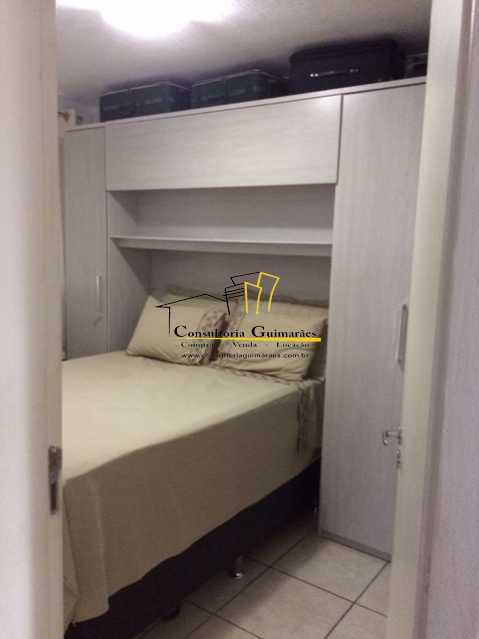 c4711dff-5e0d-45c0-b76e-41d4a4 - Apartamento 2 quartos à venda Honório Gurgel, Rio de Janeiro - R$ 120.000 - CGAP20165 - 9
