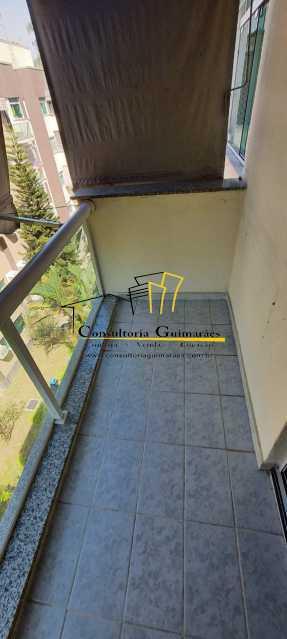 a6334982-e850-481b-88d5-159088 - Apartamento 2 quartos à venda Curicica, Rio de Janeiro - R$ 205.000 - CGAP20169 - 4